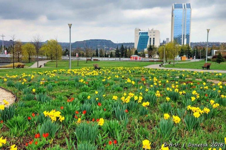 подробный фото весна в донецке открытки
